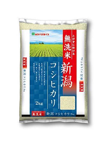 ミツハシ ミツハシライス 新潟県産コシヒカリ 無洗米 2Kg