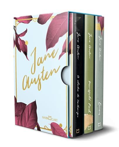 Box Jane Austen - 3 Volumes - Emma, Mansfield Park e Abadia de Northanger - Capa Brochura