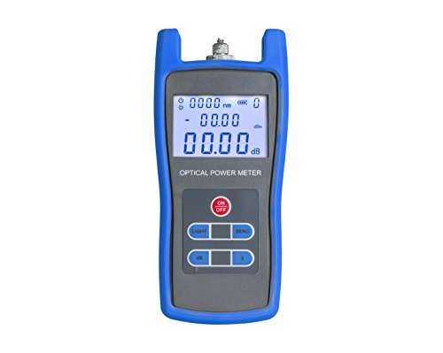 Jonard Tools FPM-50 High Precision Fiber Optic Power Meter with Included Carrying Case