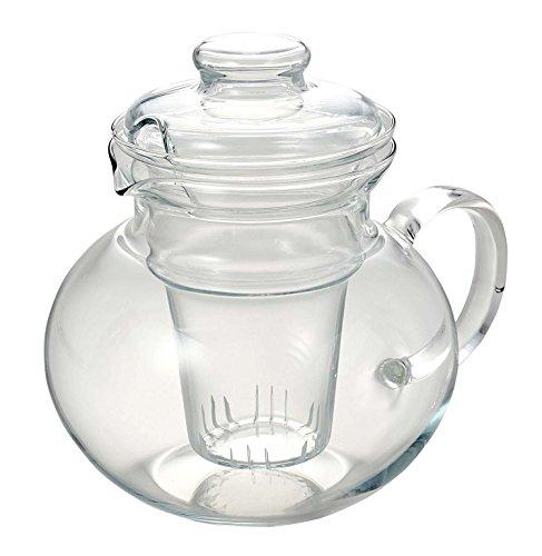 SIMAX Teekanne Eva aus Glas, inkl. Glas-Sieb, 1 Liter