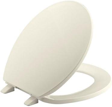 BEMIS 1500EC 146 Toilet Seat with Easy Clean /& Change Hinges ELONGATED Durabl...