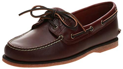 Timberland Timberland Herren Classic 2 Eye Bootsschuhe, Braun (Medium Brown Full Grain), 49 EU
