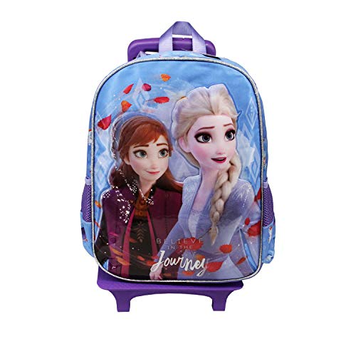 KARACTERMANIA Frozen 2 Journey-Mochila Basic con Carro, One Size, Multicolor