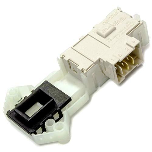 Cierre blocapuertas lavadora original LG F1296NDW3 F1296QD F1296QD3 F1296QDA F1296QDP7 F1296QDPA7 F1296QDW3