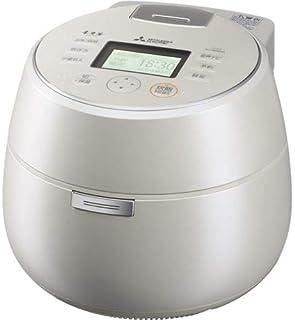 三菱 IHジャー炊飯器(5.5合炊き) 白真珠MITSUBISHI 本炭釜 KAMADO NJ-AWA10-W