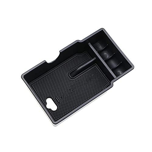 Apoyabrazos para coche Para Fiat 500X 2014-2018 accesorios de diseño de coche alfombrilla antideslizante ABS caja de almacenamiento para reposabrazos caja de almacenamiento Caja de reposabrazos de coc