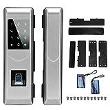 Zwindy Blocco Porta, Password Impronta Digitale Intelligente IC Card Keyless Sicurezza Dig...