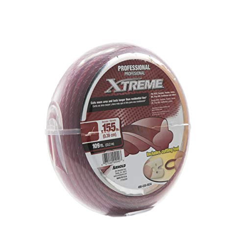 Arnold .155-Inch x 109-Foot Xtreme Professional Grade Trimmer Line