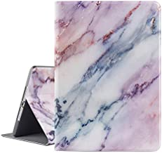 Vimorco iPad 9.7 2018/2017 Case, iPad Air 2, iPad Air Case, Soft Rubber Back Cover, Protective Leather Case, Adjustable Stand Auto Wake/Sleep Smart Case for Apple ipad 6th 5th Gen (Pink Marble)