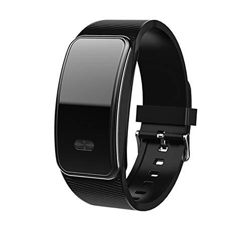 CHENC Opname-armband, 16G draagbare draadloze opname, waterdichte pedometer, spraakgeactiveerde opname, met één druk op de knop, voor vergaderingen en interviews