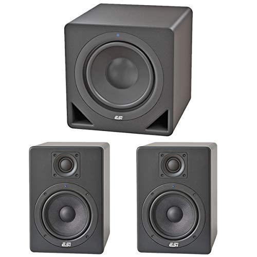 ESI Aktiv05 Studio Monitor-Boxen 1 Paar + Aktiv10S 10