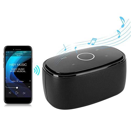 Altavoz Bluetooth, Deportes al Aire Libre de múltiples Funciones Mini portátil de Hogares Altavoz inalámbrico for PC, tabletas, teléfonos móviles, Consolas de Juego, MP3, MP4, etc (Negro) Peng