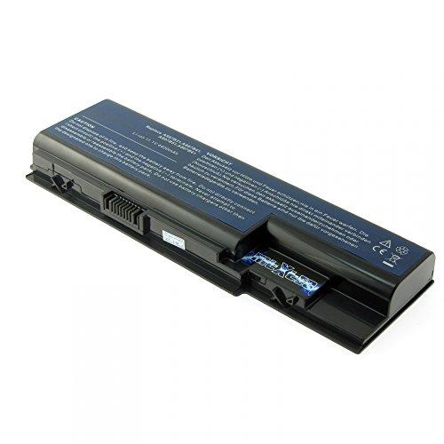 MTXtec batterie de rechange li-ion 11,1 v 4400mAh pour acer aspire 7740 noir