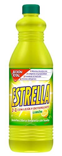 Estrella Limpiahogar con Lejía y Detergente Limón - 1.35 L