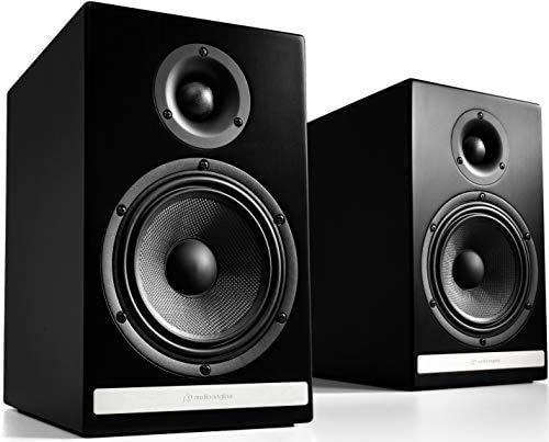 Audioengine HDP6 Negro Altavoz - Altavoces (Universal, De 2 vías,...