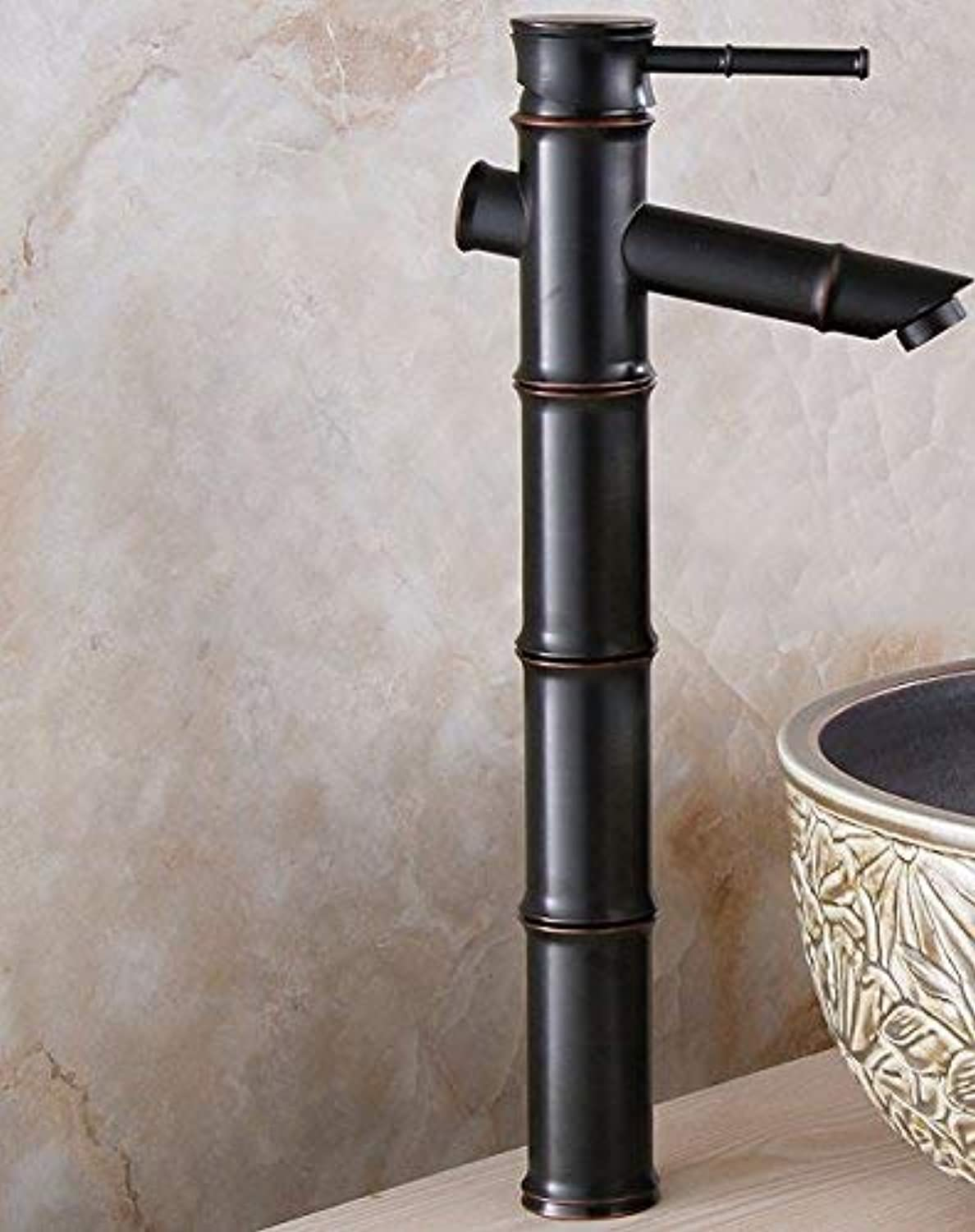 European Style Retroot And Cold Stage Basin Single Handle Single Holell Copper Sink Faucet