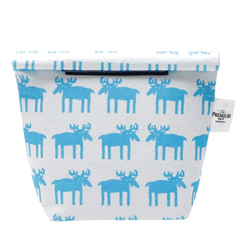 Lunch Bag Insulated Tote Bag Cooler Lunch Bento Box for Women Nylon Printing Thermal Snacks Organizer Best Gift for Kids Adults School Office Picnic Travel