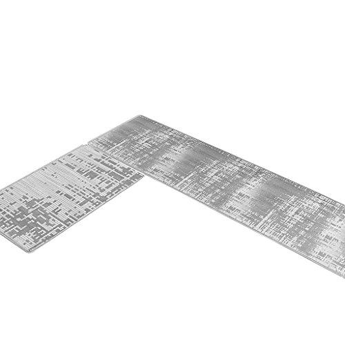 Kitchen mats MET l'amour Moderne Minimaliste de Cuisine Tapis de Sol pour Huile Proofing et étanche de la Maison Paillasson résistance au Sale antidérapant, D, 50 * 120cm