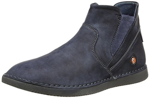 Softinos Damen Tep413Sof Stiefel, blau (marine), 38 EU (5 UK)