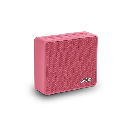 SPC One Speaker rosa con acabado en tela y 4 watios de potencia