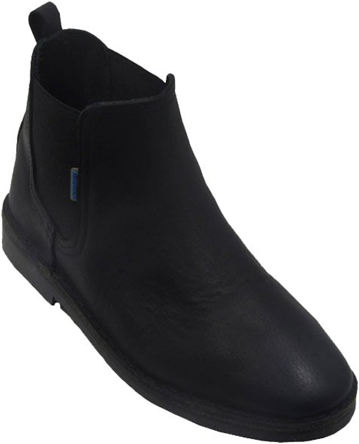 La Auténtica B324FPN - Chelsea Boots Leather, Unisex Adult, Black Leather