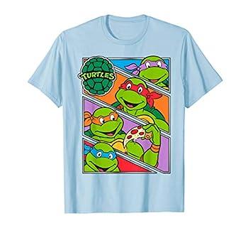 Teenage Mutant Ninja Turtles Multiple Panels T-Shirt