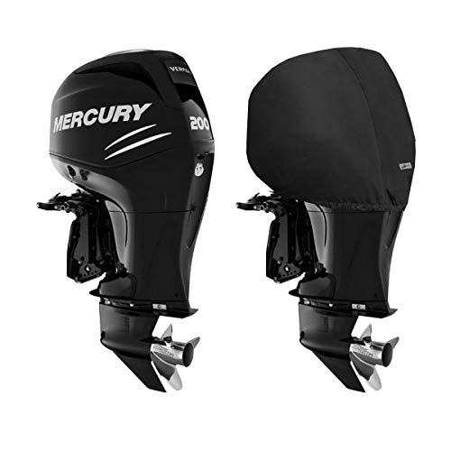 Oceansouth Custom Fit Storage Covers for Mercury Verado 4-Cylinder Outboards 135HP to 200HP (Verado 4CYL 1,7L)