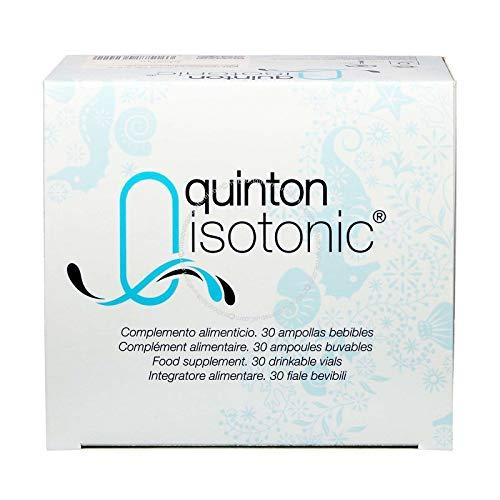 Quinton - Plasma de Quinton Isotonic | 30 bombillas de burbuja