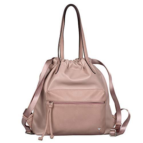 TOM TAILOR Damen Estelle Backpack, mid Rose, M