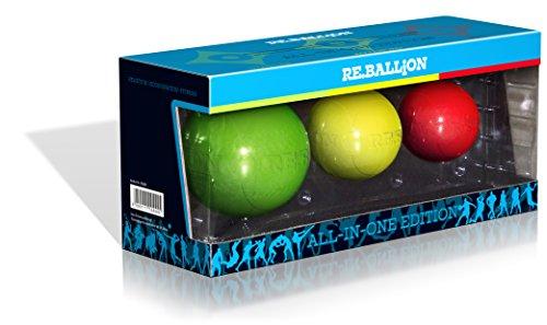 Paffen Sport Re.Ballion Set, Trainingsgerät für das Reflextraining, Komplettset