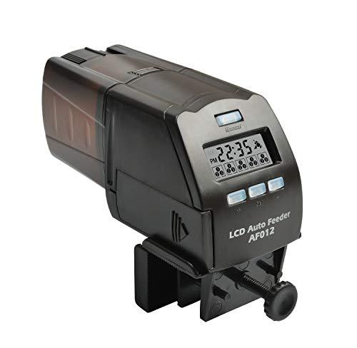 NICREW Erogatore di Cibo Automatico Programmabile per Pesci , Acquario Automatico di Pesce con display LCD e possibilità di regolare gli orari di erogazione