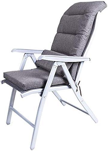Liegekissen Grau Recliner Stühle Lounge Pads Outdoor Garten Terrasse Relaxer Ersatzkissen Sitzbezug (Farbe   E)