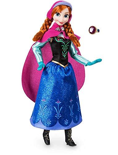 Disney Die Eiskönigin - völlig unverfroren Froozen - Anna - Klassische Puppe Original