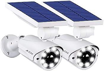 2-Pack A-ZONE L10 Solar Motion Outdoor Sensor Light