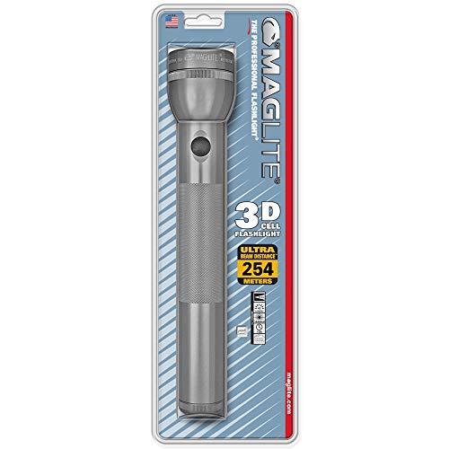 Mag-Lite S3D096 3 D-Cell Lampe Torche Métal 31,5 x 6 x 4.5 cm
