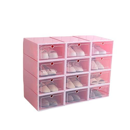 Cajas De Almacenaje Juguetes 3 Unids / Set Caja De Zapatos De Plástico Para El Hogar, Organizador De Ropa Interior, Caja De Zapatos Plegable Transparente