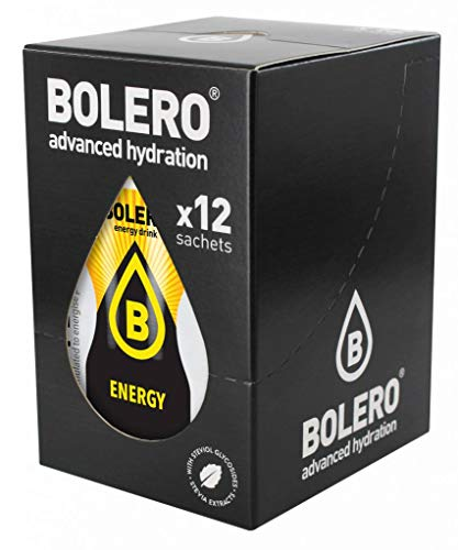 BOLERO Energy Format: 7g. Supplements sports training, physical well-being