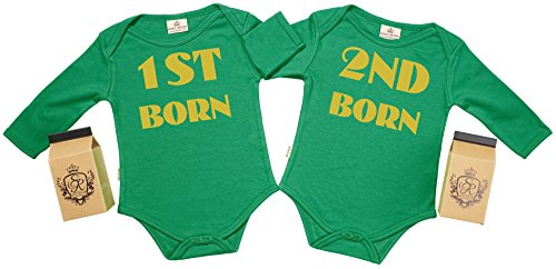 Spoilt Rotten SR - Estuche de presentación - 1st Born & 2nd Born Body Gemelos bebé - Ropa para...
