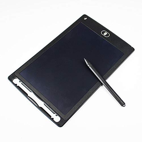 Tabletas gráficas electrónicas de 8.5 pulgadas Tablero de dibujo Tableta de escritura con pantalla LCD Dibujo digital para niños Tablero de escritura electrónica Boar Black