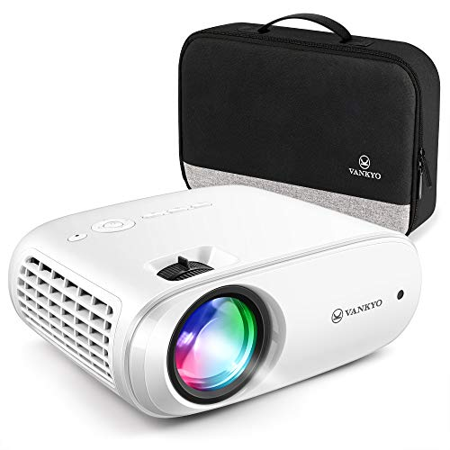VANKYO Cinemango 100 Projector for Outdoor Movies, Mini Projector with 1080P Supported, 220'' Display, 55,000 Hours LED Lamp Life, Compatible with HDMI/TV Stick/TV Box/PS4 for Entertainment