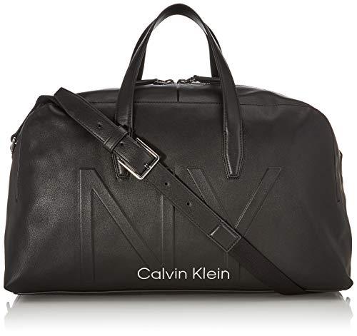 Calvin Klein Herren Shaped Large Duffle Schultertasche, Schwarz (Black), 0.1x0.1x0.1 Centimeters