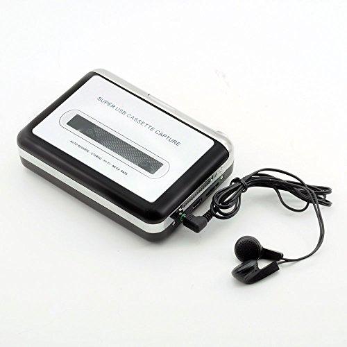 QUMOX Nastro al PC Super USB Cassette-to-MP3 Converter acquisizione Audio Music Player