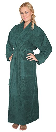 c9b9d3c677 Arus Men s and Women s Optimal Style Full Length THICK Shawl Collar Turkish  Bathrobe Detail Rating