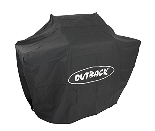 Outback Premium BBQ Cover To Fit 2 Burner Hooded Trooper & Spectrum > Water resistant and breathable protective cover with high thread count - OUT370051
