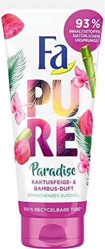 Fa Duschgel Pure Paradise Kaktusfeige- & Bambus-Duft, 200 ml