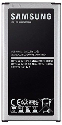 Akku S-5 ((in BLISTER)) Samsung EB-BG900BBEGWW SM-G900 Li-Ion Standard-Akku (2800mAh) für Samsung Galaxy S5 (beachten Original Akkus NUR in Blister verpackt !!) (Akku 1)