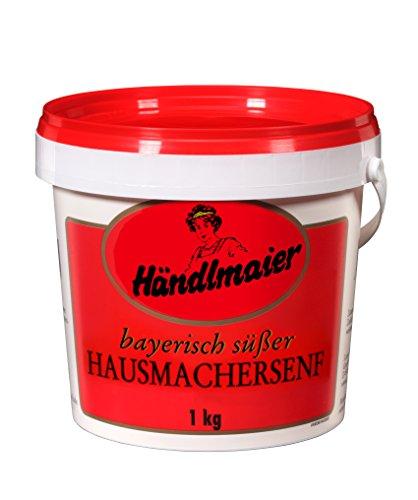 Händlmaier's Hausmachersenf süß Eimer, 6er Pack (6 x 1 kg)