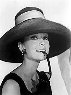 Buyartforless Audrey Hepburn in Summer Hat 12x16 Art Print Poster Wall Decor Famous Image Made in The USA