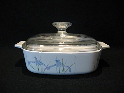 Corning Ware 'Shadow Iris' (A-1-B) Casserole Baking Dish with Lid (1 qt)