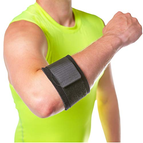 Counterforce Brace - Tendonitis Strap Support Band for Tennis & Golfers Elbow Pain